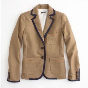 J. CREW Wool School Boy Blazer Jacket SIZE 2